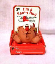 I'm a Santa Hug Design By Christa The Hug Factory Stocking stuffer Gift ornament