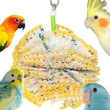 1791 Paper Puff Bonka Bird Toys foraging parrot toy cages shred cockatiel budgie