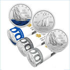 2021 Canada 10 cent Bluenose dimes - three different - from mint rolls