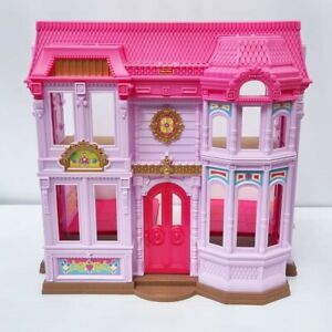 Rare Fisher Price 2010 Loving Family Manor Dollhouse Mansion Purple