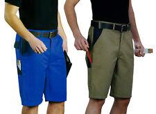 Arbeitsshorts Blau Khaki Gr 48 50 52 54 Shorts kurze Hosen Sommershorts Herren