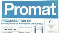 Promat Promasil 950 KS Isolierplatte Wärmedämmung 1 Platte 1000 x 500 x 40 mm