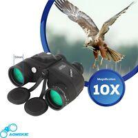 Marine Binoculars with Night Vision Compass Rangefinder 10X50 IPX7 Waterproof