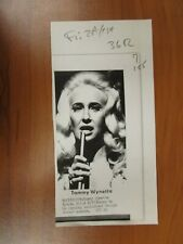 Vintage Wire AP Press Country Singer Tammy Wynette Stand By Your Man, Divorce #3