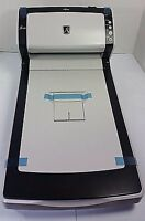 Fujitsu fi-6230 Pass-Through Duplex Color Scanner, Drivers, AC Adapter and Tray