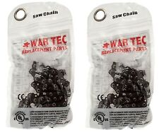 """WAR TEC Chainsaw Chain 14"""" Pack Of 2 Fits McCULLOCH 7-38 738"""