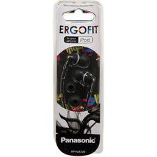 NEW Panasonic Ergofit RP-HJE125E-K earphones headphones for iphone ipod mp3 etc.