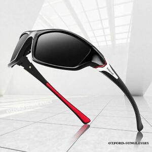 Polarized Sunglasses Men Women Retro Square Sport Fishing Cycling Driving