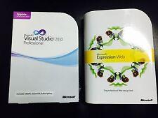 Microsoft Visual Studio Professional 2010 inglese con fattura IVA