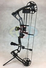"""ASD Mirage Compound Bow 15-70Lbs 19-31"""" 300Fps * Black * Ultimate Package *"""