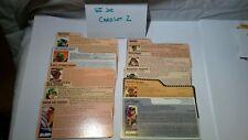 G. I. Joe File Card Lot 2 Cards only