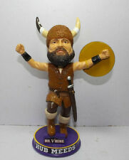 Minnesota Vikings HUB MEEDS Original Mascot Ltd. Ed. Bobblehead NFL Licensed New