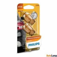 2x WY21W Vision lamp Car HALOGEN Rear indicator 12V 21W WX3x16d PHILIPS 12071B2