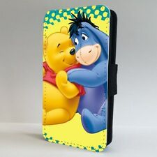 Winnie The Pooh Eeyore Amigos Funda para Estuche de Teléfono Abatible De Disney IPHONE SAMSUNG