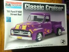 Monogram Classic Cruiser 1955 Ford Street Rod Pick Up (Brand New Factory Sealed)