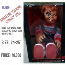 Animated Talking Chucky Doll Childs Play