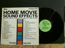 HOME MOVIE SOUND EFFECTS Audio Fidelity Library  L.P.