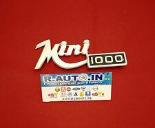 #INNOCENTI MINI 1000 TARGHETTA FREGIO Badge EMBLEM #Mini1000