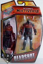 "DEADSHOT Batman Arkham Origins DC Comics Multiverse 4"" inch Figure Mattel 2014"