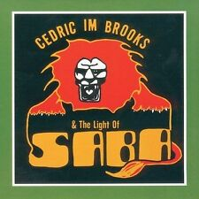 NEW Cedric IM Brooks & The Light of Saba (Audio CD)