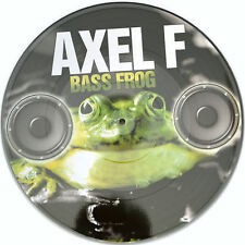 Picture VINILE Bass Frog Axel F RARE LIMITED EDITION