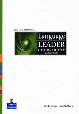 LANGUAGE LEADER Pre-Intermediate Coursebook & CD-ROM | Lebeau Rees @NEW BOOK@