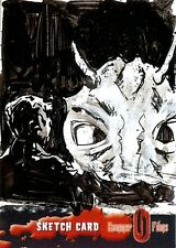 Hammer Horror Series 2 Sketch Card drawn by Clay McCormack /4