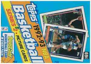 1992-93 TOPPS NBA BASKETBALL SERIES 2 SEALED BOX