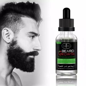 Men's Effective Repair Beard Nourishing Care Professional Moustache Grow Strengt