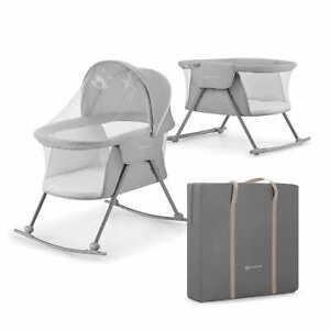 Kinderkraft Baby cot/Cradle LOVI Grey  KINDERKRAFT