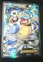 Blastoise EX - NM- XY122 Generations Promo Holo Full Art Ultra Rare Pokemon Card