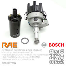RAE ELECTRONIC DISTRIBUTOR & BOSCH COIL 6-CYL 3.3L 202 RED [HOLDEN VB COMMODORE]