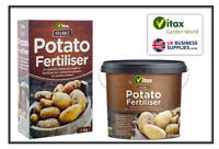 Vitax Organic Potato Feed Plant Fertiliser Vegetable Root Onion Food 1kg & 4.5kg