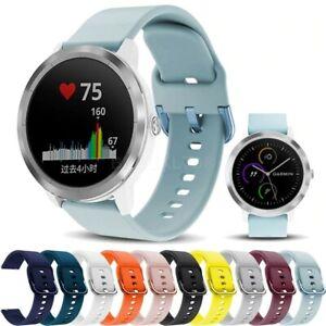 For Garmin Vivoactive 3 / Music Silicone Fitness Wrist Band Strap