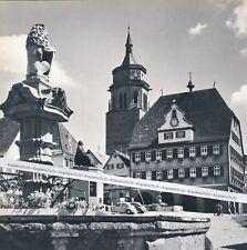 Porque la ciudad-plaza del mercado con monumento para Kepler-para 1965-R 2-5