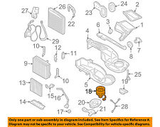 VOLVO OEM 01-09 S60-Blower Motor 31320393