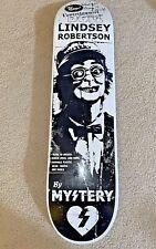 Lindsey Robertson Mystery Skateboard Deck Very Rare Signed Nos Deck Zero