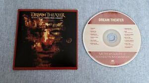 Dream Theater Metropolis Pt 2 Euro CD From 2011 Card Sleeve Ex/Ex Prog Metal
