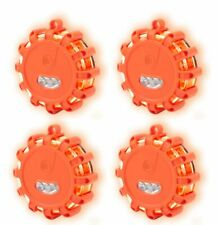 4St. Warnleuchte Signallampe Magnet Warnblinkleuchte Notlicht