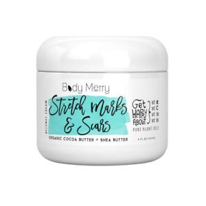 Stretch Marks  Scars Defense Cream Daily Moisturizer w Organic Cocoa Butter + S