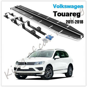 Nerf Bars Running Boards Side Steps Pedals Fits for Volkswagen Touareg 2011-2018