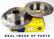 2 X REAR AXLE BRAKE DISCS FOR LAND ROVER Mk III L322 4.4 3.0 02 - 12 ADC1332