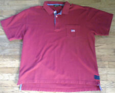 Orvis Red American / Us Flag Polo Shirt, Short Sleeve,100% Cotton Xl