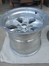 Set 2 Alloy Wheels 15x13 5x5.5 Super Truck Sandrail Rear Rims Ford 4x4 ET15 Drag