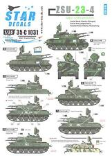 Star Decals 1/35 ZSU-23-4 Soviet (USSR) and Russian Versions