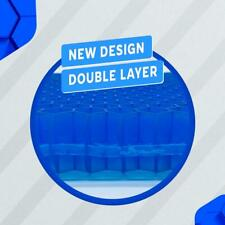 Double Layer Structured Gel Pad Flex Cushion Seat Pillow Back Support
