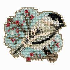 Little Chickadee - Winter Holiday 2018 Mill Hill Stitch Bead Kit w/Treasure