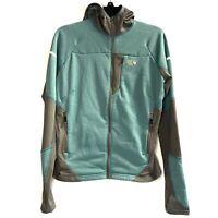 Mountain Hardware Jacket teal Women's Medium Reflective lines