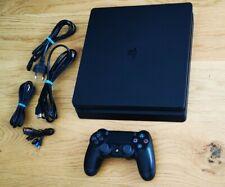 Sony Playstation 4 Slim 500 GB PS4 + FIFA 19 completa di imballo