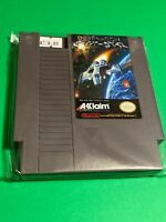 🔥 💯 WORKING NINTENDO NES GAME CARTRIDGE ACCLAIM - DESTINATION EARTHSTAR SHUMP